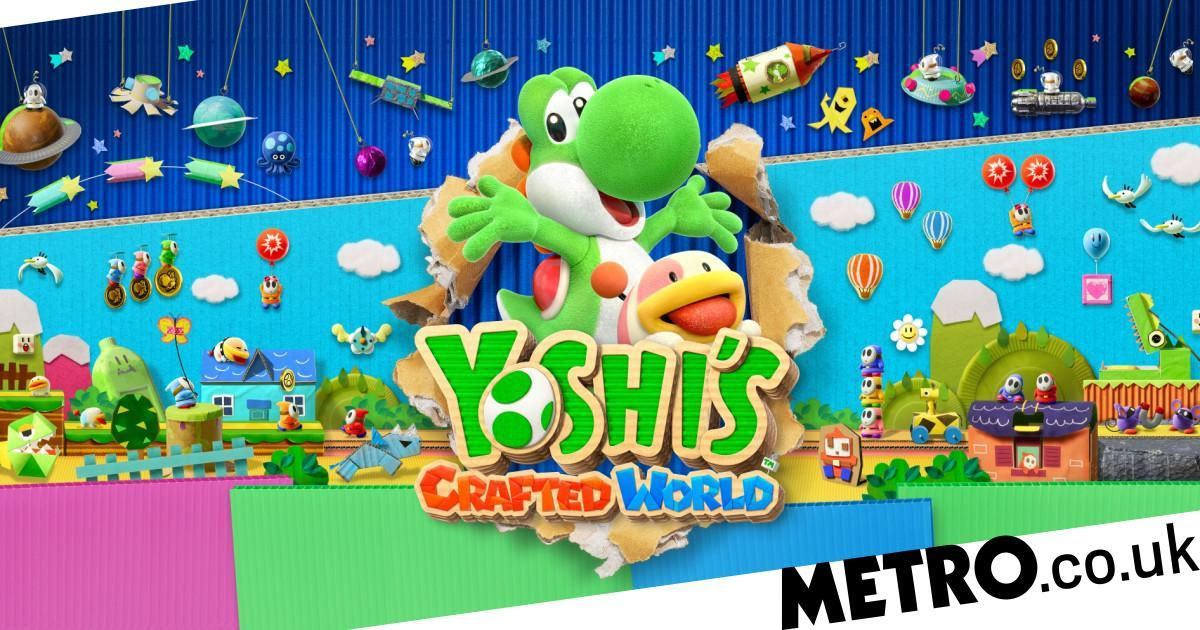 Game review: Yoshi's Crafted World is a charming co-op adventure