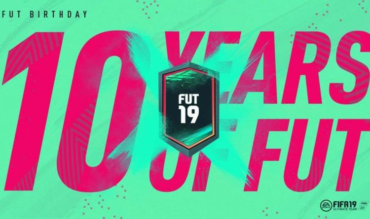 FIFA 19 FUT 19 Birthday event LIVE NOW: New FUT cards REVEALED, ratings and SBCs