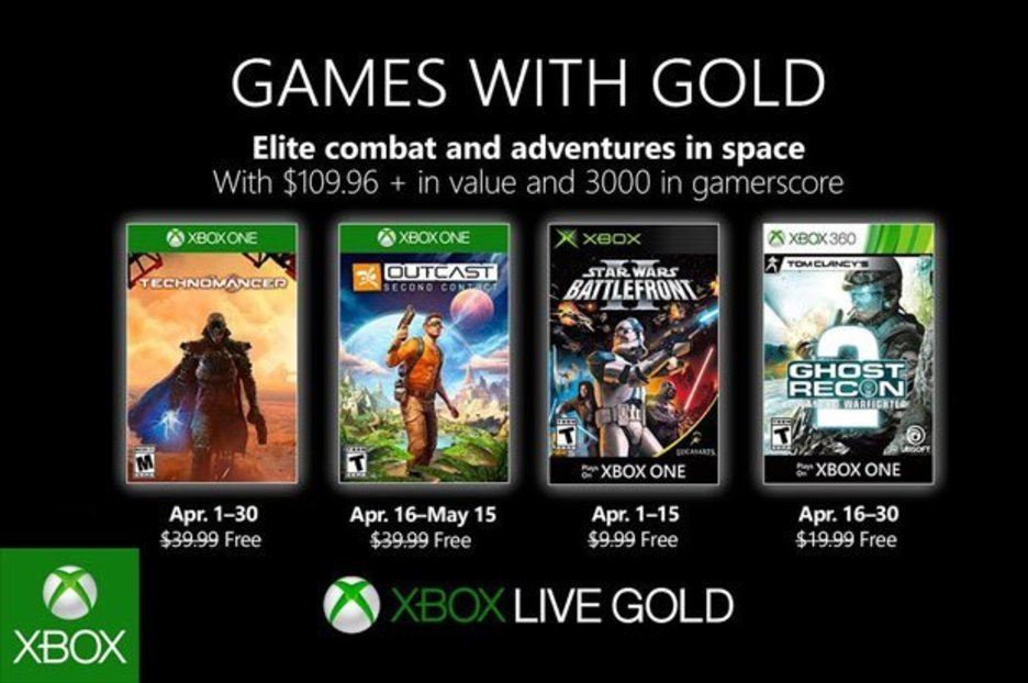 Games with Gold April 2019 CONFIRMED: Major Nelson reveals FREE Xbox One, 360 Games