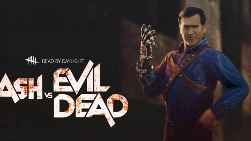 Ash Williams Revs Up For Dead By Daylight