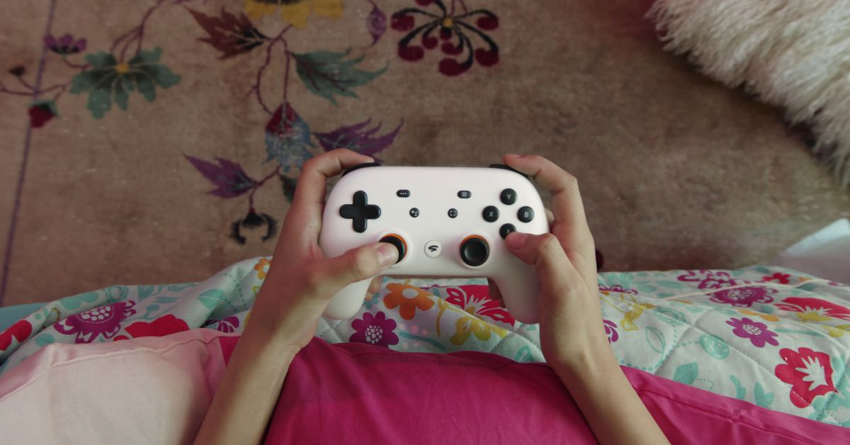 Here's your first look at Google's gaming controller