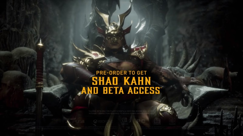 Here's When You Can Beat Up Your Friends In The Mortal Kombat 11 Beta