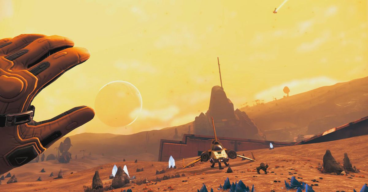 No Man's Sky getting full VR support on PS4 and PC