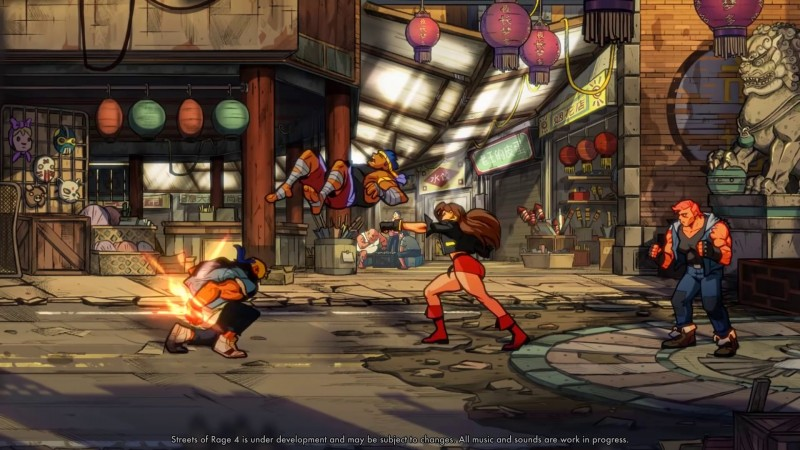 Streets of Rage 4's Combat Revealed In New Teaser Trailer