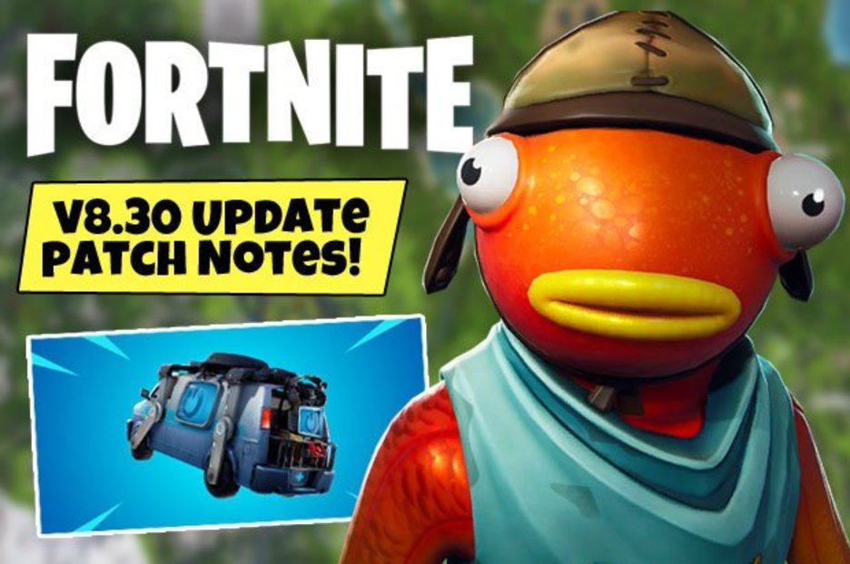 Fortnite Update 8.30 Early Patch Notes: Respawn Van, Server Downtime, Skins, Latest News