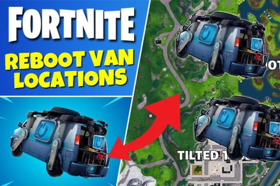 Fortnite Reboot Van Locations: Where to find Reboot Vans, Map for 8.30 Reboot Vans