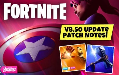 Fortnite Avengers Update 8.50 Patch Notes: Endgame LTM mode, Start Time, Skins, Downtime