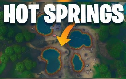 Fortnite Dance between Four Hot Springs Map Locations: Week 9 Challenge locations revealed