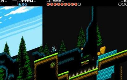 Turns out Shovel Knight is a 3D game — seriously
