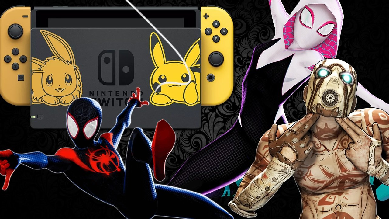 Daily Deals: Nintendo Switch Pikachu Edition in Stock, Borderlands, and Spider-Verse