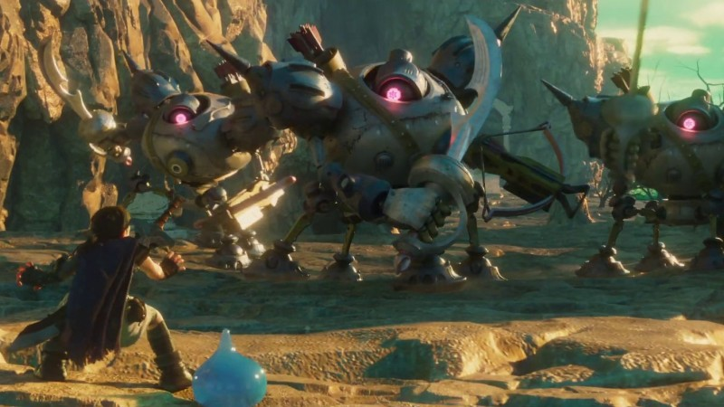 First Trailer For Japanese Dragon Quest V Film Focuses On The Journey