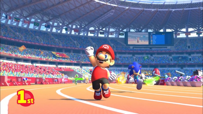 Sega Announces Multiple Games For The 2020 Tokyo Olympics