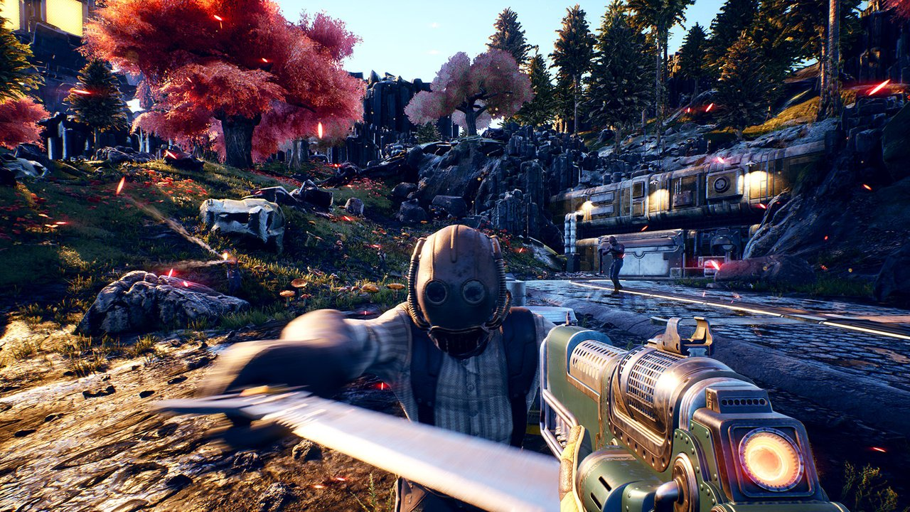 One of The Outer Worlds' Best Weapons Started Life as a Bug