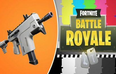 Fortnite 9.10 update patch notes REVEALED: Burst SMG, Suppressed Submachine Gun SHOCK