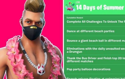 Fortnite 14 Days of Summer Challenges and Rewards Leaked: Full challenge list revealed