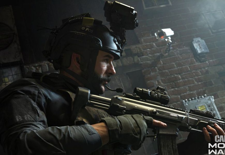 The next Call of Duty has no slow motion shooting sequences