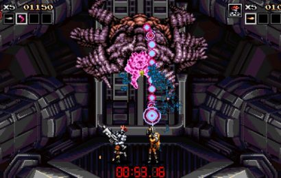 Contra-Inspired Indie Blazing Chrome Releases In Early July