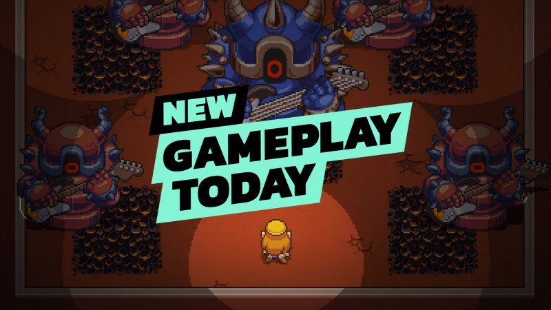 New Gameplay Today – Cadence of Hyrule – Crypt Of The NecroDancer Featuring the Legend of Zelda