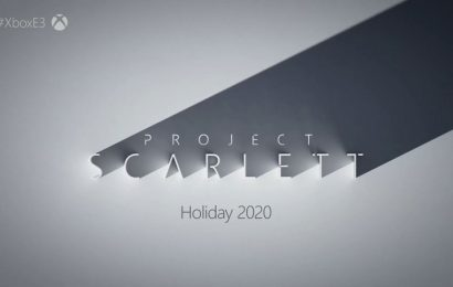 Microsoft Unveils Project Scarlett, The Next-Gen Console Coming Next Year