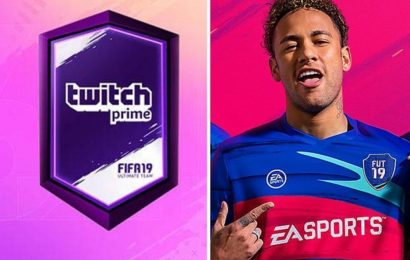FIFA 19 Twitch Prime FUT Pack: How to get two FREE 86+ Ultimate Team player rewards