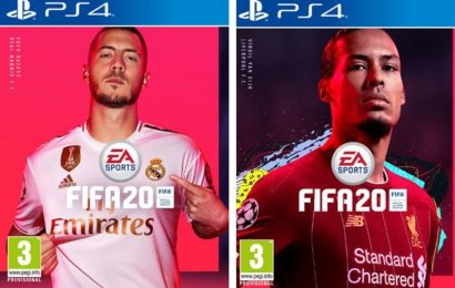 FIFA 20 Cover Stars REVEALED as Eden Hazard of Real Madrid and Liverpool's Virgil van Dijk