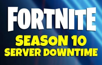 Fortnite Season 10 downtime update and server status maintenance countdown time