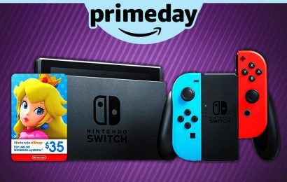 Nintendo Prime Day Deal: Get A Switch With $35 Free Eshop Credit With Purchase (US)