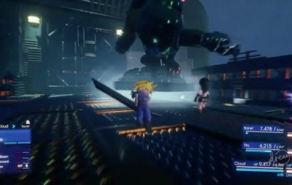 Someone remade the Final Fantasy 7 remake in the PS4's Dreams