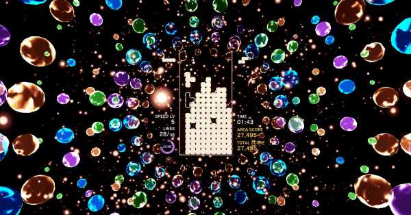 Tetris Effect coming to PC, Vive, and Rift