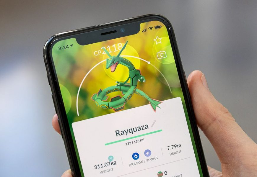 Rayquaza returns to Pokémon Go with the chance to be Shiny