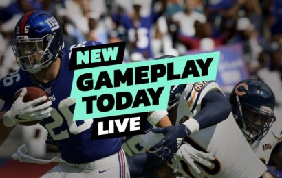Madden NFL 20 –New Gameplay Today Live