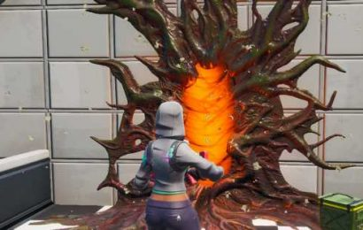 Stranger Things' Upside Down portals have started appearing in Fortnite