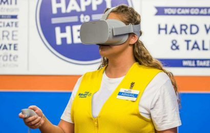 Walmart is Using VR to Assess & Promote Employees – Road to VR