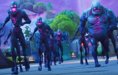Fortnite 10.10 PATCH NOTES update: Retail Row zombies, BRUTE targeting laser, Mech changes