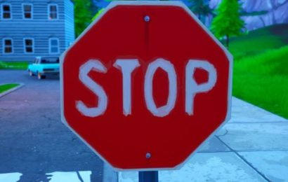 Fortnite Stop Sign Locations: Where To Destroy Stop Signs with Catalyst Outfit