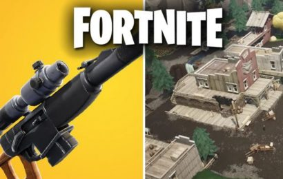 Fortnite 10.00 Patch Notes UPDATE: Tilted Town, Automatic Sniper Rifle, Arsenal LTM TODAY