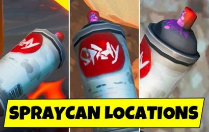 Fortnite Lost spray cans locations: Where to find spraycans for Spray & Pray challenge?