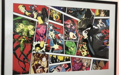 Get The Inside View From The Atlus' Amazing Art Exhibit Dedicated To Persona 5 And Catherine