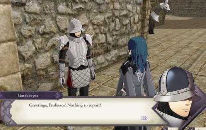 Fire Emblem fans are falling for the pure and wonderful gatekeeper