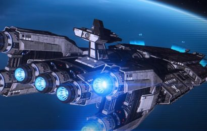 Elite: Dangerous' new Fleet Carrier will dock up to 16 ships at a time
