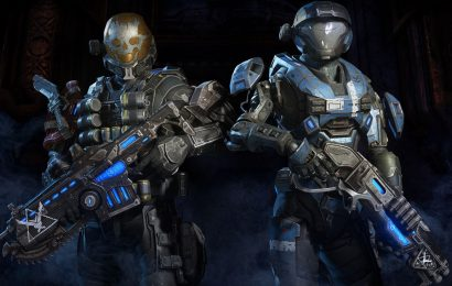 Halo characters are coming to Gears 5