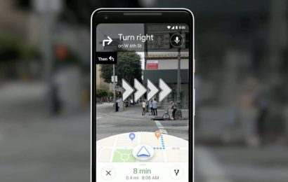 Google Maps' 'Live View' AR Feature Available in Beta, Makes Getting Lost Harder