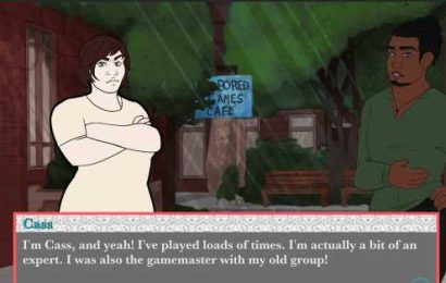 Roll+Heart is an earnest LGBT tabletop visual novel