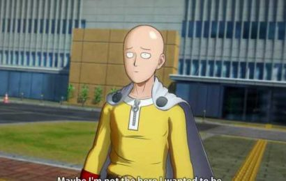 One Punch Man fighting game hilariously solves the problem of its overpowered star