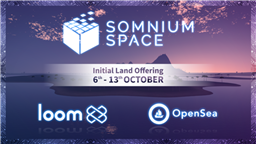 Somnium Space Enters New Blockchain Partnerships for Upcoming Land Sales This October