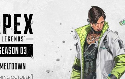 Apex Legends Season 3 start date, Cryto reveal, Meltdown and new weapon teased
