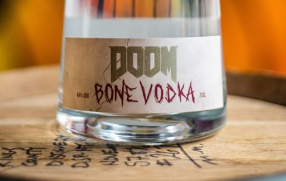 DOOM Eternal collaboration gives you 44% vodka made from bones, for some reason