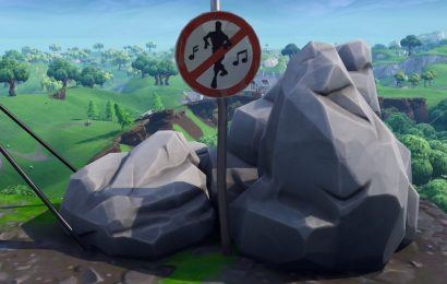 Fortnite No Dancing sign locations: Where to find, destroy No Dancing signs
