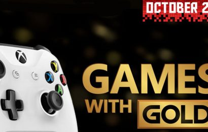 Games with Gold October 2019 Xbox reveal news