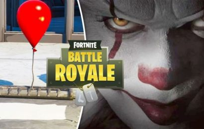 Fortnite x IT Chapter 2 event release date news: Pennywise invades with balloon surprise